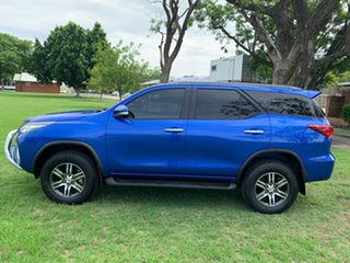 2015 Toyota Fortuner GUN156R GXL Nebula Blue 6 Speed Automatic Wagon