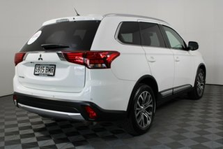 2016 Mitsubishi Outlander ZK MY16 XLS 2WD White Solid 6 Speed Constant Variable Wagon