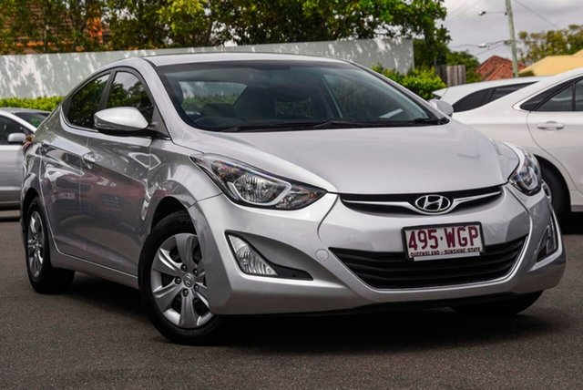 Used Hyundai Elantra MD3 Active Mount Gravatt, 2014 Hyundai Elantra MD3 Active Silver 6 Speed Sports Automatic Sedan