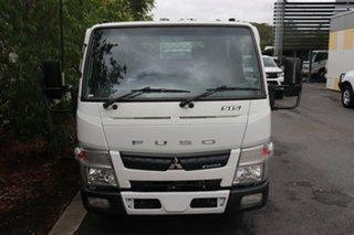 2012 Mitsubishi Fuso Canter White Automatic Tray Truck.