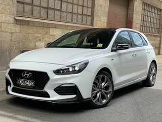 2020 Hyundai i30 PD.3 MY20 N Line D-CT Premium Polar White 7 Speed Automatic Hatchback