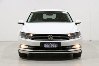 2016 Volkswagen Passat 3C MY17 132 TSI White 7 Speed Auto Direct Shift Wagon.