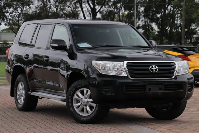 Pre-Owned Toyota Landcruiser VDJ200R MY13 GXL Warwick Farm, 2014 Toyota Landcruiser VDJ200R MY13 GXL Black 6 Speed Sports Automatic SUV