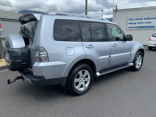 2008 Mitsubishi Pajero NS VR-X Silver 5 Speed Sports Automatic Wagon