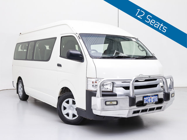Used Toyota HiAce KDH223R MY16 Commuter (12 Seats), 2017 Toyota HiAce KDH223R MY16 Commuter (12 Seats) White 4 Speed Automatic Bus