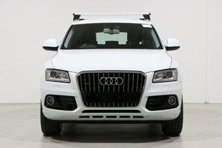 2016 Audi Q5 8R MY16 Upgrade 2.0 TDI Quattro White 7 Speed Auto Dual Clutch Wagon.
