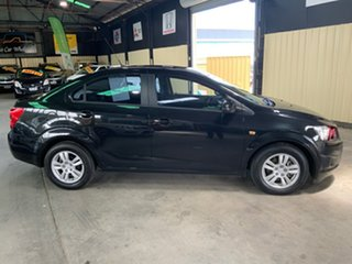 2012 Holden Barina TM MY13 CD Black 6 Speed Automatic Sedan