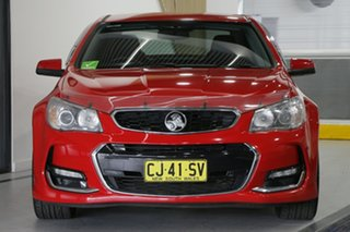 2016 Holden Commodore VF II SV6 Red 6 Speed Automatic Sedan