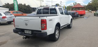 2016 Holden Colorado RG MY16 LS Crew Cab White 6 Speed Manual Utility.