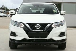 2020 Nissan Qashqai J11 Series 3 MY20 ST X-tronic Ivory Pearl 1 Speed Constant Variable Wagon