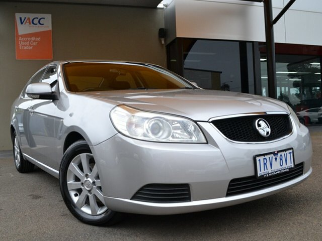 Used Holden Epica EP MY09 CDX Fawkner, 2008 Holden Epica EP MY09 CDX Silver 6 Speed Sports Automatic Sedan