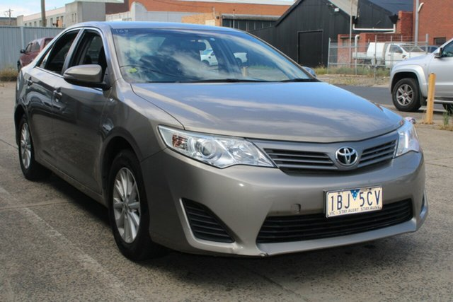 Used Toyota Camry ASV50R Altise West Footscray, 2013 Toyota Camry ASV50R Altise Brown 6 Speed Automatic Sedan