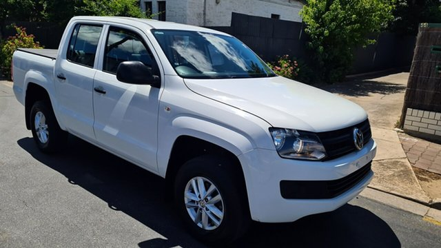 Used Volkswagen Amarok 2H MY15 TDI420 (4x2) Prospect, 2015 Volkswagen Amarok 2H MY15 TDI420 (4x2) White 8 Speed Automatic Dual Cab Utility