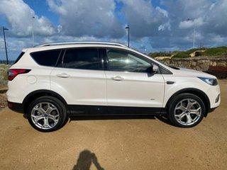 2019 Ford Escape ZG 2019.75MY Titanium White 6 Speed Sports Automatic SUV.