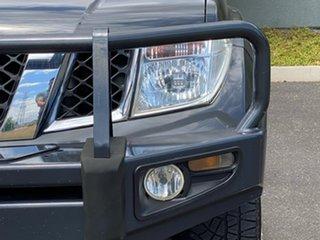 2007 Nissan Navara D40 ST-X Grey 5 Speed Automatic Utility