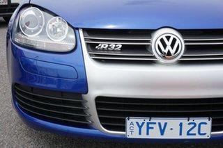 2008 Volkswagen Golf V MY08 R32 DSG 4MOTION Blue 6 Speed Sports Automatic Dual Clutch Hatchback