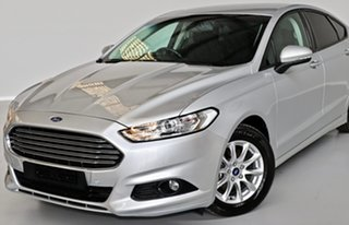 2016 Ford Mondeo MD Ambiente Silver 6 Speed Sports Automatic Dual Clutch Hatchback