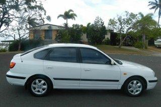 2003 Hyundai Elantra XD GLS White 4 Speed Automatic Hatchback.