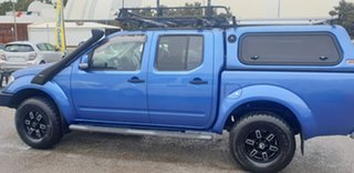 2013 Nissan Navara D40 S6 MY12 ST Blue 5 Speed Sports Automatic Utility