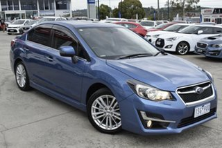 2016 Subaru Impreza G4 MY16 2.0i-S Lineartronic AWD Blue 6 Speed Constant Variable Sedan.