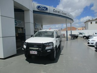 2017 Ford Ranger PX MkII MY17 Update XL 3.2 (4x4) White 6 Speed Automatic Super Cab Chassis.