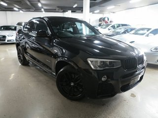2016 BMW X4 F26 xDrive35d Coupe Steptronic Black 8 Speed Automatic Wagon.