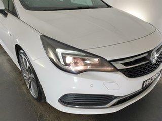 2017 Holden Astra BK MY17 RS-V White 6 Speed Sports Automatic Hatchback.
