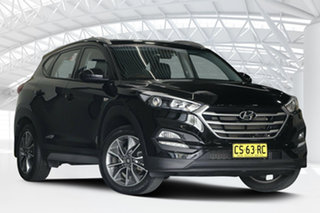 2017 Hyundai Tucson TL MY18 Active X (FWD) Ebony Black 6 Speed Automatic Wagon.