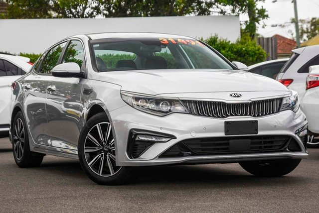Used Kia Optima JF MY20 SI Mount Gravatt, 2019 Kia Optima JF MY20 SI Silky Silver 6 Speed Sports Automatic Sedan