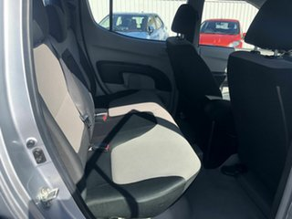 2012 Mitsubishi Triton MN MY13 GLX Double Cab 4x2 Silver 5 Speed Manual Utility