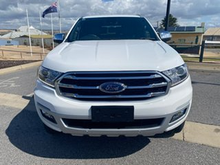 2019 Ford Everest UA II 2019.00MY Titanium White 10 Speed Sports Automatic SUV