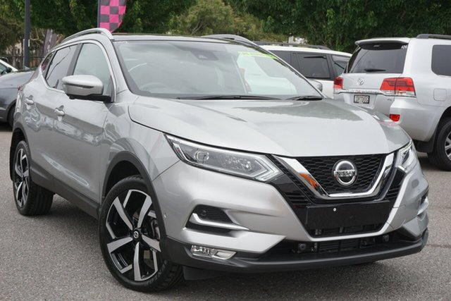 Used Nissan Qashqai J11 Series 3 MY20 Ti X-tronic Phillip, 2019 Nissan Qashqai J11 Series 3 MY20 Ti X-tronic Silver 1 Speed Constant Variable Wagon