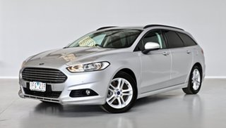 2015 Ford Mondeo MD Ambiente Silver 6 Speed Sports Automatic Wagon