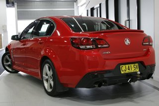 2016 Holden Commodore VF II SV6 Red 6 Speed Automatic Sedan.