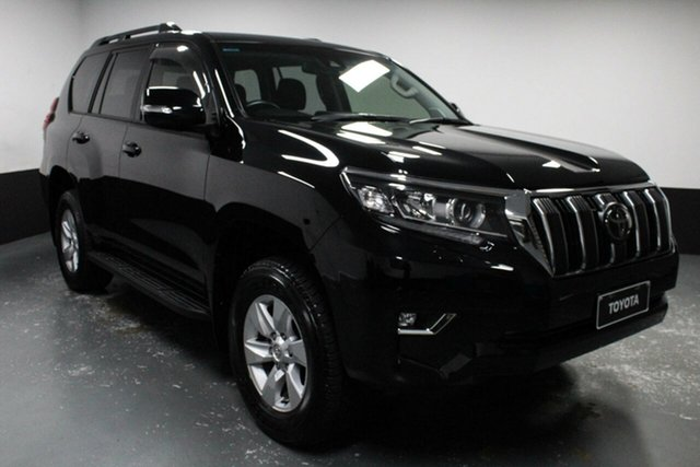 Used Toyota Landcruiser Prado GDJ150R GXL Rutherford, 2018 Toyota Landcruiser Prado GDJ150R GXL Black 6 Speed Sports Automatic Wagon