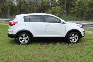 2011 Kia Sportage SL MY12 SI White 5 Speed Manual Wagon