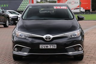 2017 Toyota Corolla ZRE182R Ascent Sport S-CVT Black Mica Metallic/cert 7 Speed Constant Variable