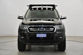 2020 Ford Ranger PX MkIII 2020.25MY XLT Shadow Black 10 Speed Sports Automatic Double Cab Pick Up.