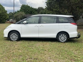 2017 Toyota Tarago GSR50R MY16 GLI V6 Glacier White 6 Speed Automatic Wagon