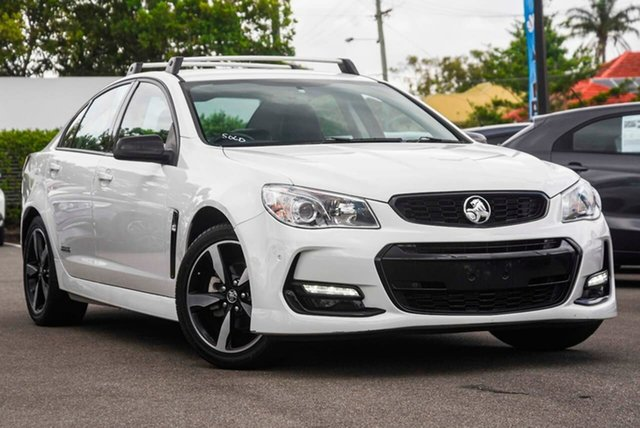 Used Holden Commodore VF II MY16 SV6 Black Mount Gravatt, 2016 Holden Commodore VF II MY16 SV6 Black White 6 Speed Sports Automatic Sedan