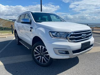 2019 Ford Everest UA II 2019.00MY Titanium White 10 Speed Sports Automatic SUV.