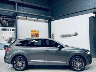 2015 Audi Q7 4M MY16 TDI Tiptronic Quattro Grey 8 Speed Sports Automatic Wagon.