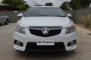 2014 Holden Cruze JH Series II MY14 SRi Z Series White 6 Speed Sports Automatic Sedan.