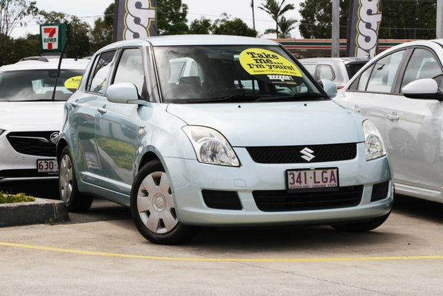Used Suzuki Swift RS415 Aspley, 2008 Suzuki Swift RS415 Blue 4 Speed Automatic Hatchback