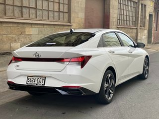 2020 Hyundai i30 CN7.V1 MY21 Active Polar White 6 Speed Automatic Sedan.