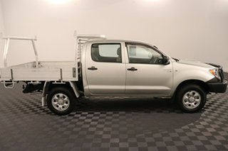 2010 Toyota Hilux KUN26R MY10 SR Silver 5 speed Manual Cab Chassis