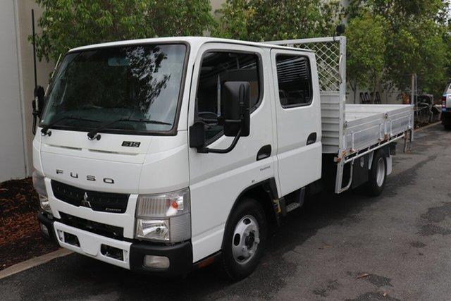 Used Mitsubishi Fuso Canter Robina, 2012 Mitsubishi Fuso Canter White Automatic Tray Truck