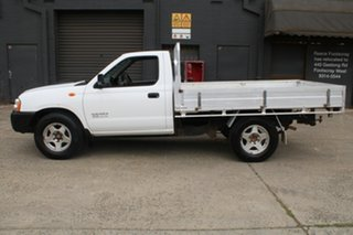 2009 Nissan Navara D22 MY08 DX (4x2) White 5 Speed Manual Cab Chassis