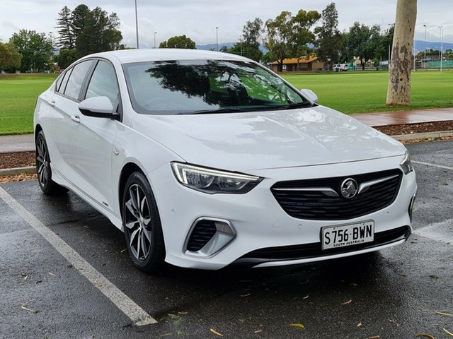 Used Holden Commodore ZB MY18 RS Liftback AWD Nailsworth, 2018 Holden Commodore ZB MY18 RS Liftback AWD White 9 Speed Sports Automatic Liftback