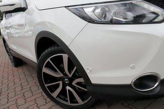 2015 Nissan Qashqai J11 TI White 1 Speed Constant Variable SUV.